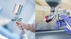 Airless vs HVLP Sprayer